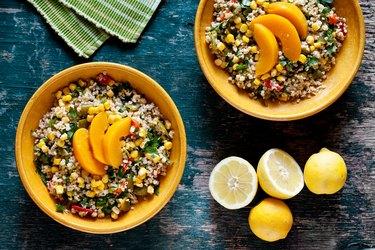 Artichoke, Chicken and Corn Salad