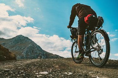 Bicycle tour in the high of the Taurus mountains