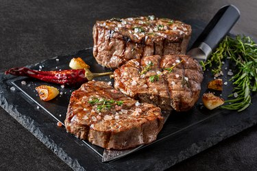 Grilled Fillet Steak with Herbs