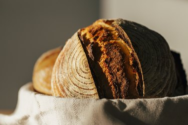 Sourdough Bread in bowl