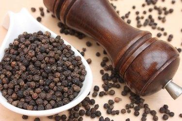 Black pepper in grains