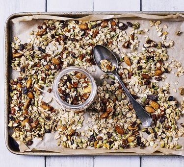 Avoid adding this tray of granola, nuts and dried fruit to your gastroparesis food list