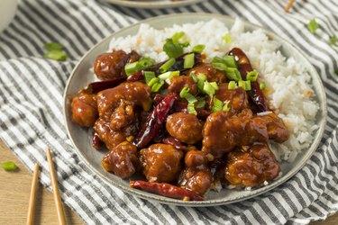 Homemade Chinese General Tsos Chicken
