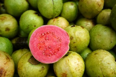 vitamin c-rich Guava Fruit