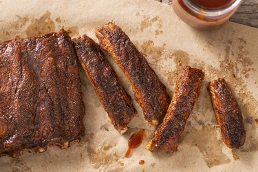 Barbecue - BBQ - St Louis Style Pork Ribs