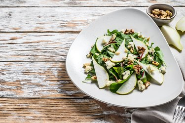 Asian Pear and Blue Cheese Salad