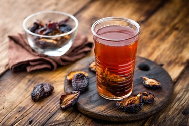 A glass of prune juice for weight loss