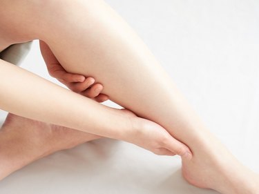 Japanese women concerned about swollen feet