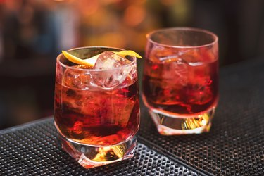 Two glasses of alcohol, as an example of foods to avoid with GERD