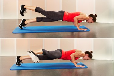 Move 1: Hard-Core Plank