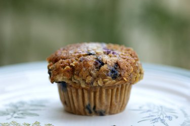 Whole-Wheat Blueberry Protein Muffins Protein Powder Recipes
