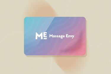 Massage Envy Gift Card, as a gift for people with cancer