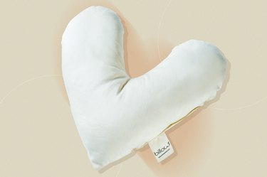 Billow Heart Pillow, as a gift for people with breast cancer