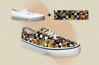 Vans Custom Shoes, as a gift for people with cancer