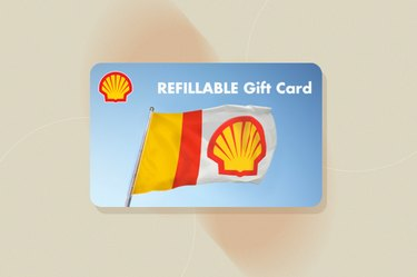 Shell gas gift card, as a gift for people with cancer