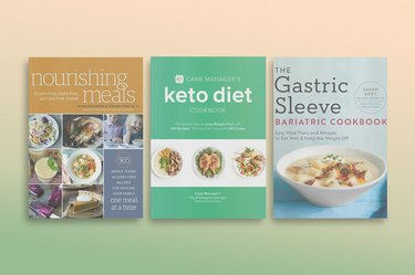 a collage of some of the best weight-loss cookbooks