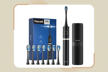 Fairywill Electric Toothbrush P11 with Travel Case
