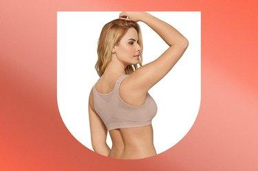 Leonisa Front Closure Posture Corrector Bra