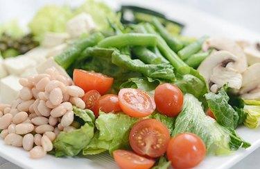 Asparagus and Tofu Salad Plant Based Dinner Recipes