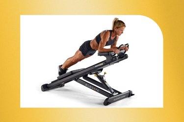 Total Gym Elevate Core Adjustable Ab Machine