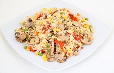 Veggie Wok Fried Rice Plant Based Dinner Recipes