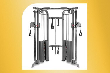 XMark Functional Cable Trainer Machine With Dual 200-Pound Weight Stacks