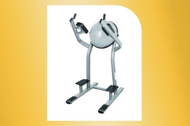 French Fitness BOSU Vertical Leg/Knee Raise Ab Machine