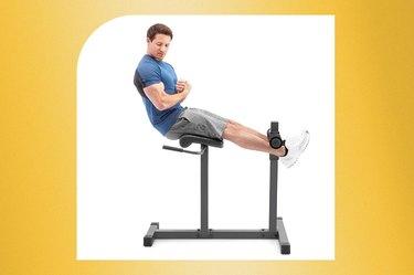 Marcy Adjustable Hyperextension Roman Chair Ab Machine