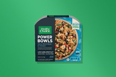 Healthy Choice Spicy Black Bean and Chicken Power Bowl frozen meal