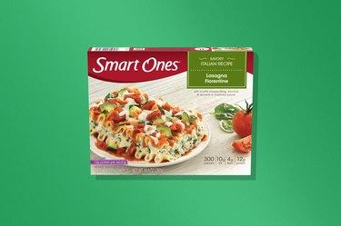SmartOnes Lasagna Florentine frozen dinner