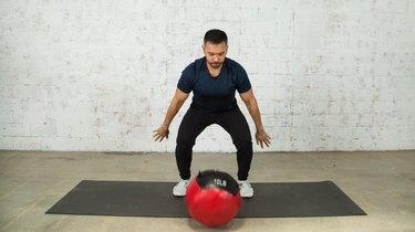 9. Medicine-Ball Slam