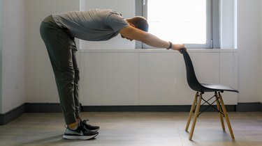 Move 6: Chair Hamstring Stretch
