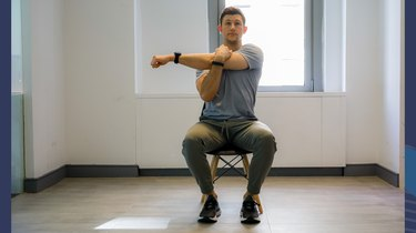 Move 7: Seated Shoulder Stretch