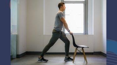 Move 1: Standing Calf Stretch