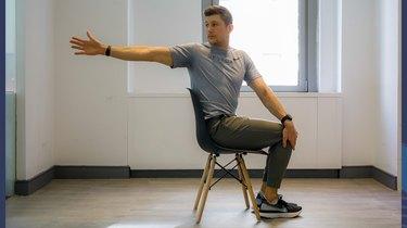Move 8: Seated Thoracic Rotation