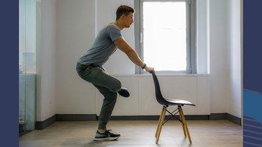 Move 2: Standing Figure-4 Stretch