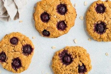 Blueberry Sweet Potato Breakfast Cookies Low-Carb Vegan Breakfast Recipes