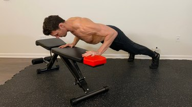 4. Bench Push-Up