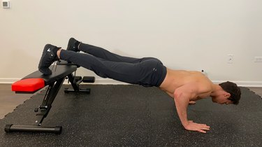 3. Elevated Push-Up