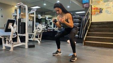 Move 2: Side Step Squat