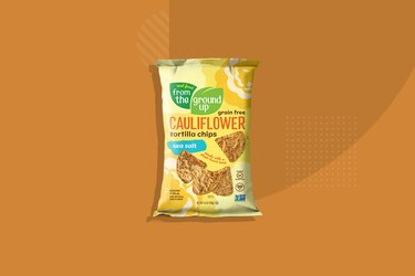 Real Food From the Ground Up Cauliflower Sea Salt Tortilla Chips