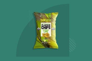 Barnana Organic Plantain Chips Acapulco Lime