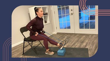 Move 6: Seated Hamstring Stretch