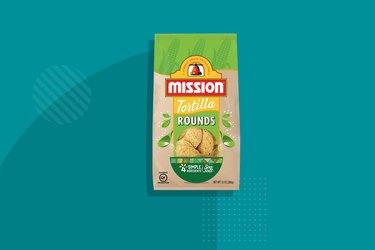 Mission Sea Salt Tortilla Rounds