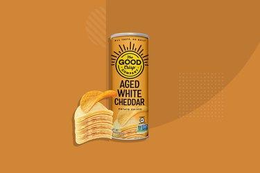 The Good Crisp Company Aged White Cheddar Potato Crisps