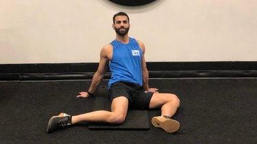 4. 90/90 Hip Stretch