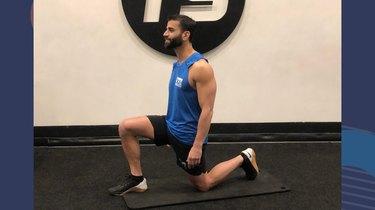 3. Half-Kneeling Hip Flexor Stretch