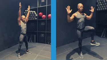 Move 6: Standing Lat Pull