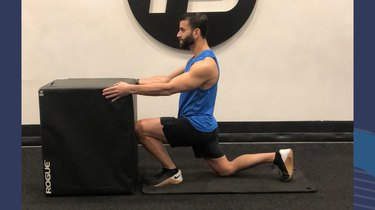 5. Wall Ankle Stretch