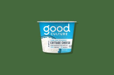 Cultured cottage cheese: a low-fat classic